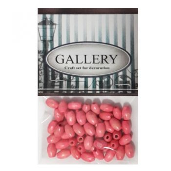 Beads Gallery wood pink