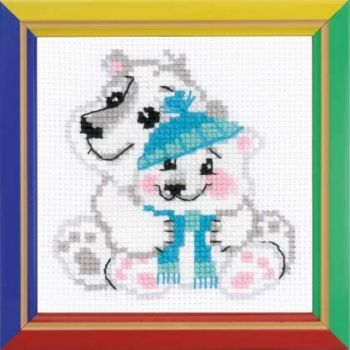 Cross-stitch Riolis HB-162 kit Younger Brother