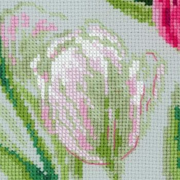 Cross-stitch Riolis T100/052 he Watercolour Tulips