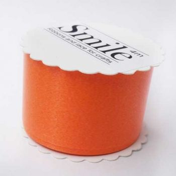 Ribbon for packing orange glossy