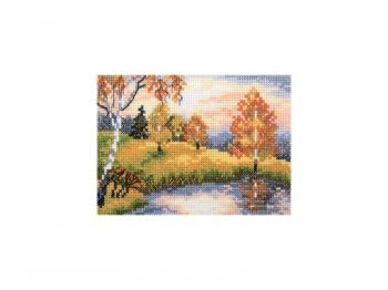 Cross-stitch kit RTO EH343 Autumn forest
