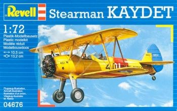 Model of training aircraft Stearman Kaydet, Ravel