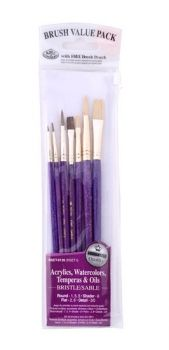 Paintbrushes set Royal Langnickel - 7pc. RSET-9136