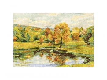 Cross-stitch kit RTO M348 Autumn scenes