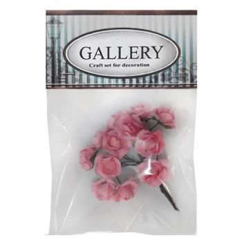 Paper flowers kit roz