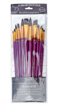 Paintbrushes set RSET-9315 - Royal Langnickel - 12pc.