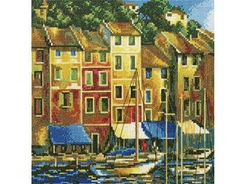Cross-stitch kit RTO M387 Portofino