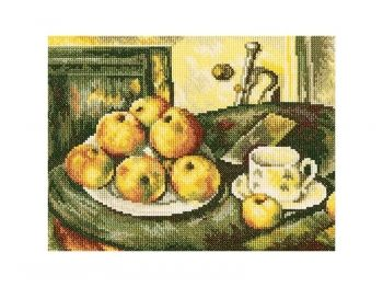 Cross-stitch kit RTO M411 Still life with apples