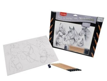 Paint By Number graphical Kit - Horses