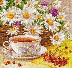 "Cross-stitch kit ""Afternoon tea"" - Alisa 5-13"