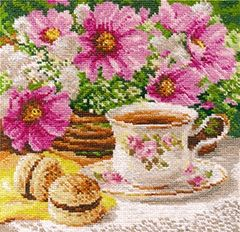 "Cross-stitch kit ""Morning tea"" - Alisa 5-12"