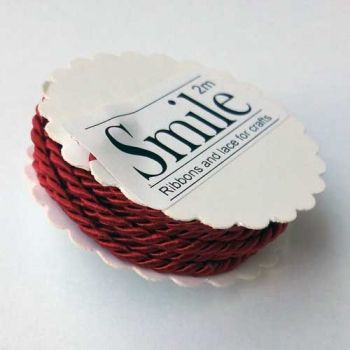 Designers craft cord, xmas red - Smile