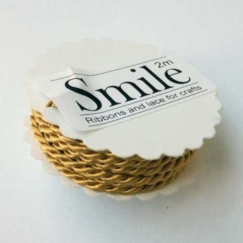 Designers craft cord, gold - Smile