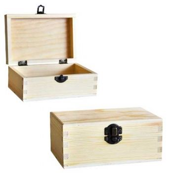 Wooden box 10991 - 15 / 10 / 6.5 cm - Chenfei