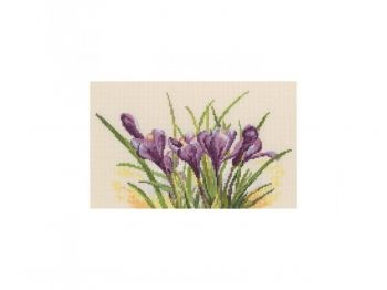 Cross-stitch kit RTO М584 Spring crocuses