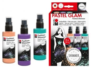 Textile spray Marabu FASHION kit