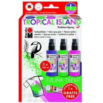 Marabu Fashion-Spray Trend-Set - Tropical Island