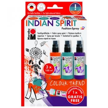 Marabu Fashion-Spray Trend-Set - Indian spirit