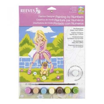 Paint by numbers acrylic kit - In the park