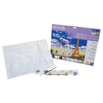 Paint by numbers acrylic kit - Eifel Tower