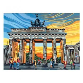 Paint by numbers acrylic kit - Brandenburg gate