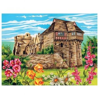 Paint by numbers acrylic kit - Castle