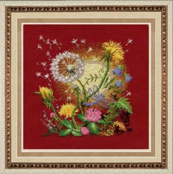 "Cross-stitch kit Zolotie ruchki ""Dawn"""
