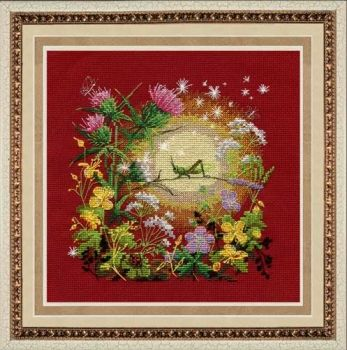 "Cross-stitch kit Zolotie ruchki ""Sunset"""