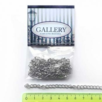 Chains for jewelry - 3/6mm, length 1m