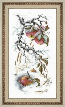 "Cross-stitch kit Golden hands ""Winter whim"""