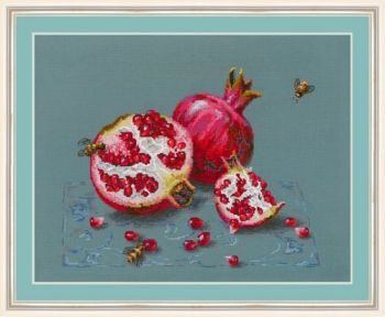 "Cross-stitch kit Golden Hands ""Pomegranate"""