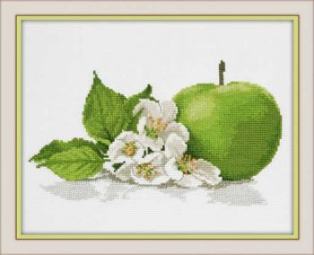 "Cross-stitch kit Ram 846 ""Pina colada"""