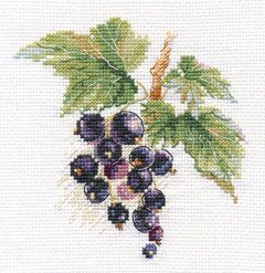 Cross-stitch kit - Alisa 0-140 Cherries
