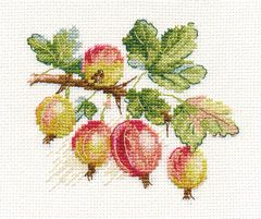 Cross-stitch kit - Alisa 0-141 Black Currant