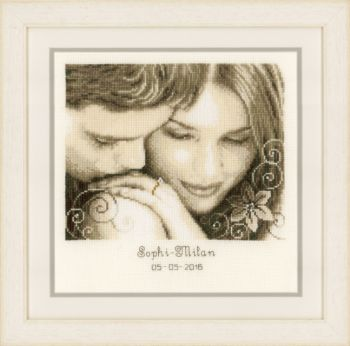 Vervaco cross-stitch PN-0153820 Romance