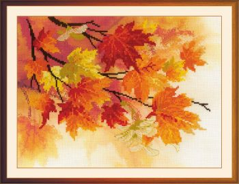 Cross-stitch kit Riolis 0036PT - Above the clouds