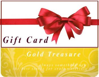 Gift Card Gold Treasure