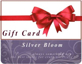 Gift Card Silver Bloom
