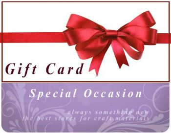 Gift Card Special Occasion