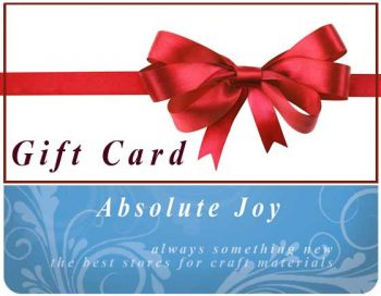 Gift Card Absolute Joy