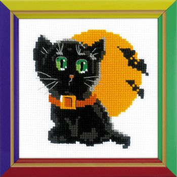 Cross-stitch Riolis HB175 Black cat