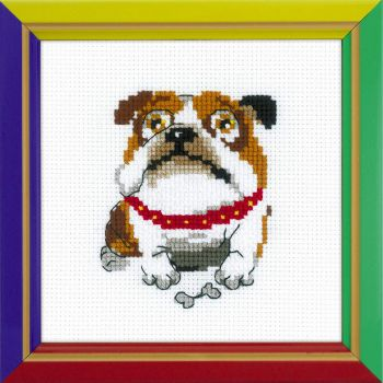 Cross-stitch Riolis HB177 English Buldog