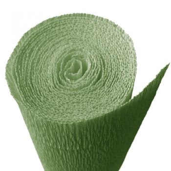 Crepe paper forest green