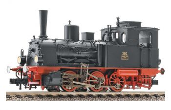 Model of steam locomotive - BR 54.15-17, HO