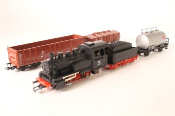 Starter kit with electric locomotive - Hondekop, HO