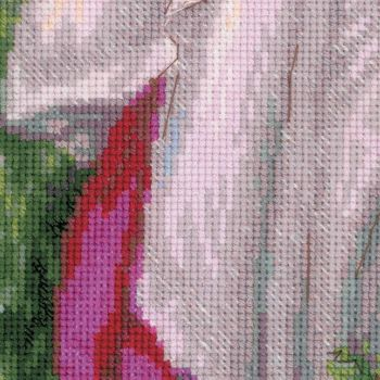 Cross-stitch Riolis T100/054 Ballet dancer