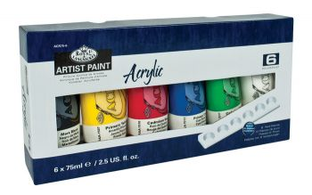 Acryl paints 24 colours Royal Langnickel