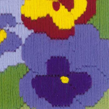 Cross-stitch kit Riolis 1570 - Lavender