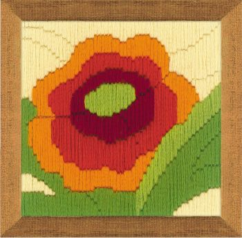 Cross-stitch kit Riolis 1633 Viola tricolor, long stitch