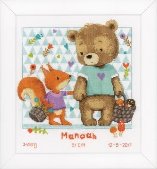 Vervaco cross-stitch PN-0155063 Baby's foot